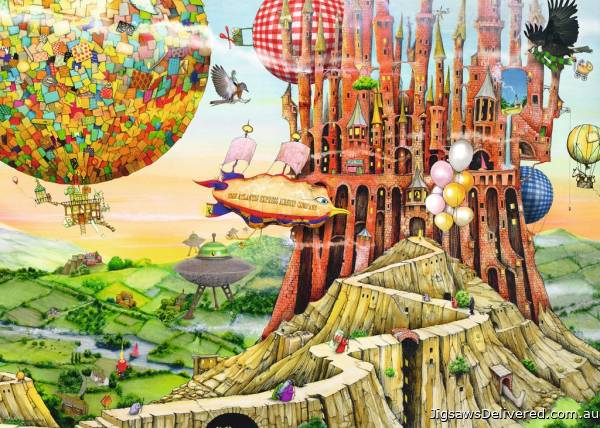 Flying Home (RB19652-4), a 1000 piece jigsaw puzzle by Ravensburger.