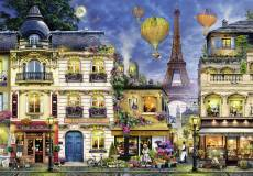 Evening Walk in Paris (RB17829-2), a 18000 piece Ravensburger jigsaw puzzle.