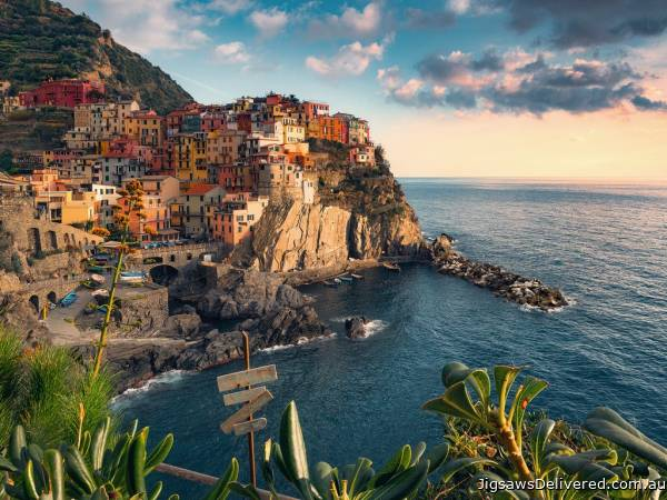 Cinque Terre (RB16227-7), a 1500 piece jigsaw puzzle by Ravensburger.
