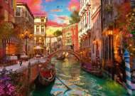 Venice Romance (RB15262-9), a 1000 piece jigsaw puzzle by Ravensburger. Click to view this jigsaw puzzle.