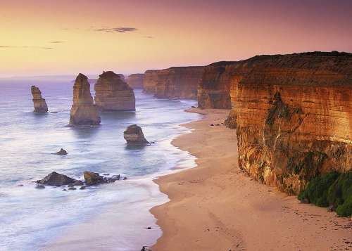 Great Ocean Road, Australia (RB15154-7), a 1000 piece jigsaw puzzle by Ravensburger. Click to view larger image.