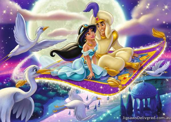 Aladdin (Disney Moments) (RB13971-2), a 1000 piece jigsaw puzzle by Ravensburger.