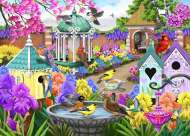 Victorian Garden (Birdsong) (HOL771189), a 1000 piece Holdson jigsaw puzzle.