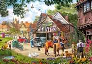 Afternoon Amble (GIB61888), a 1000 piece jigsaw puzzle by GibsonsArtist Steve Crisp. Click to view this jigsaw puzzle.