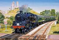 Corfe Castle Crossing (GIB031157), a 500 piece Gibsons jigsaw puzzle.