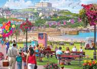 Newquay Harbour, Cornwall UK (GIB062212), a 1000 piece jigsaw puzzle by GibsonsArtist Steve Crisp. Click to view this jigsaw puzzle.