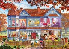 Autumn Home (1000pc) (GIB062236), a 1000 piece Gibsons jigsaw puzzle.