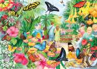 Butterfly House (GIB062311), a 1000 piece jigsaw puzzle by GibsonsArtist Anne Searle. Click to view this jigsaw puzzle.