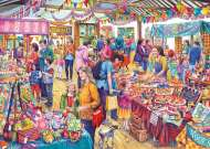 Village Fete Tombola (GIB062540), a 1000 piece Gibsons jigsaw puzzle.