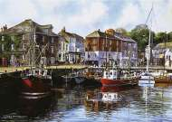 Padstow Harbour, UK (GIB004762), a 1000 piece jigsaw puzzle by GibsonsArtist Terry Harrison. Click to view this jigsaw puzzle.