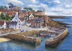Crail Harbour, Scotland. Click to view this product