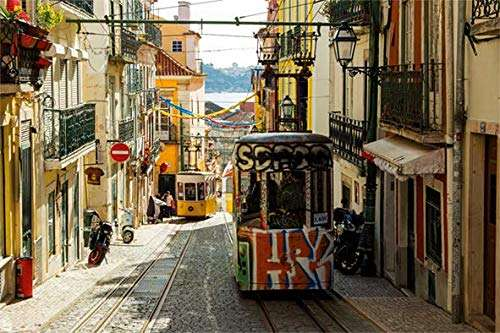 Lisbon, Portugal (JUM18829), a 1500 piece jigsaw puzzle by Jumbo. Click to view larger image.