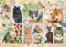 Cat Stamps. Click to view this product
