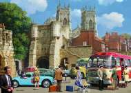 Arriving in York (JUM11231), a 1000 piece jigsaw puzzle by Jumbo and artist Kevin Walsh. Click to view this jigsaw puzzle.