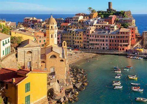 Cinque Terre Vernazza (JUM18806), a 500 piece jigsaw puzzle by Jumbo.