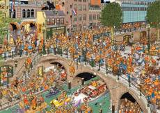 Kings Day (JUM19054), a 1000 piece Jumbo jigsaw puzzle.