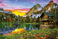 Alpine Lake (EDU17678), a 5000 piece jigsaw puzzle by EducaArtist Dominic Davison. Click to view this jigsaw puzzle.