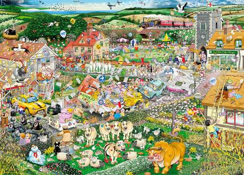 I Love Spring (GIB070217), a 1000 piece jigsaw puzzle by Gibsons. Click to view larger image.