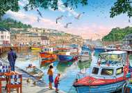 First Catch (GIB062328), a 1000 piece jigsaw puzzle by GibsonsArtist Steve Crisp. Click to view this jigsaw puzzle.