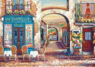 Le Petit Cafe (EDU18014), a 4000 piece jigsaw puzzle by EducaArtist John O'Brien. Click to view this jigsaw puzzle.