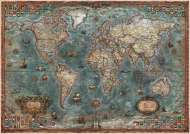 Historical World Map (EDU18017), a 8000 piece jigsaw puzzle by Educa. Click to view this jigsaw puzzle.