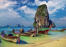 Krabi, Thailand (EDU18007), a 2000 piece jigsaw puzzle by Educa. Click to view this jigsaw puzzle.