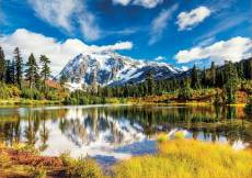 Mount Shuksan, Washington USA (EDU18011), a 3000 piece Educa jigsaw puzzle.