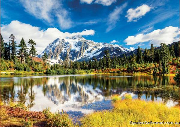 Mount Shuksan, Washington USA (EDU18011), a 3000 piece jigsaw puzzle by Educa.