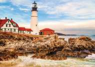 Rocky Lighthouse (EDU17978), a 1500 piece Educa jigsaw puzzle.