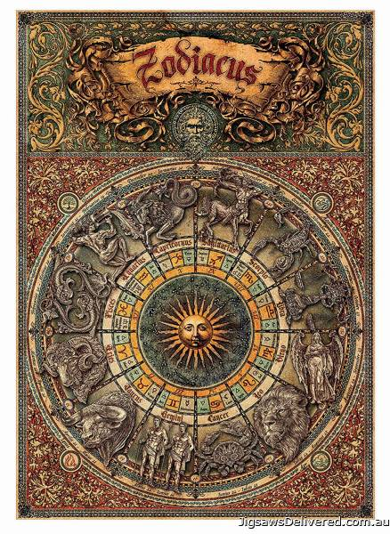 Zodiac (EDU17996), a 1000 piece jigsaw puzzle by Educa.
