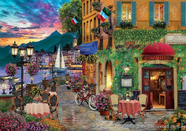 Italian Fascino (EDU18009), a 2000 piece jigsaw puzzle by Educa.