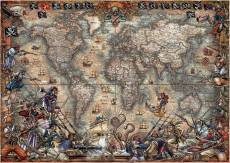 Pirates World Map. Click to view this product