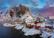 Lofoten Islands, Norway (EDU17976), a 1500 piece jigsaw puzzle by Educa. Click to view this jigsaw puzzle.