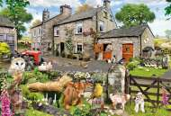 Farmyard Friends (Large Pieces) (GIB022179), a 100 piece jigsaw puzzle by GibsonsArtist Howard Robinson. Click to view this jigsaw puzzle.
