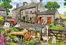 Farmyard Friends (Large Pieces) (GIB022179), a 100 piece Gibsons jigsaw puzzle.
