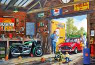 Daddy's Little Helper (Large Pieces) (GIB022155), a 100 piece jigsaw puzzle by GibsonsArtist Derek Roberts. Click to view this jigsaw puzzle.