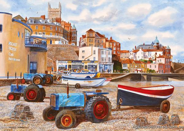 Cromer (GIB062144), a 1000 piece jigsaw puzzle by Gibsons.