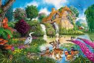 The Old Watermill (GIB034226), a 500 piece jigsaw puzzle by Gibsons. Click to view this jigsaw puzzle.