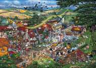 I Love the Farmyard (GIB007947), a 1000 piece jigsaw puzzle by GibsonsArtist Mike Jupp. Click to view this jigsaw puzzle.