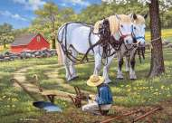 To The Fields (Large Pieces) (HOL771486), a 500 piece Holdson jigsaw puzzle.