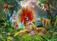 Bird of Paradise (Mistress of the Pridelands) (HOL771271), a 1000 piece Holdson jigsaw puzzle.