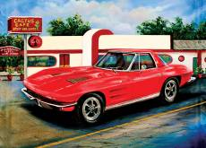 Corvette at Cactus Cafe. Click to view this product