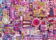 Purple (Rainbow Project) (COB80151), a 1000 piece jigsaw puzzle by Cobble HillArtist Shelley Davies. Click to view this jigsaw puzzle.