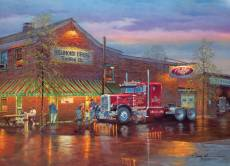 Big Red (Trucks) (COB80188), a 1000 piece Cobble Hill jigsaw puzzle.