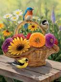 Bouquet (Large Pieces) (COB88012), a 275 piece jigsaw puzzle by Cobble Hill. Click to view this jigsaw puzzle.