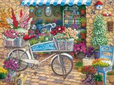 Pedals and Petals (Large Pieces) (COB88006), a 275 piece Cobble Hill jigsaw puzzle.