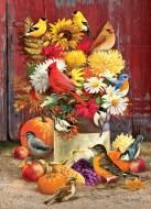 Autumn Bouquet (COB80183), a 1000 piece Cobble Hill jigsaw puzzle.
