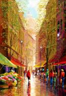 Streets of Florence, Italy (ANA3609), a 500 piece jigsaw puzzle by Anatolian. Click to view this jigsaw puzzle.