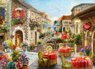 Flori Cafes (ANA1074), a 1000 piece jigsaw puzzle by Anatolian. Click to view this jigsaw puzzle.