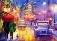 Paris at Night (ANA1070), a 1000 piece jigsaw puzzle by Anatolian. Click to view this jigsaw puzzle.
